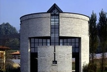 Mario Botta / Mario Botta (Born April 1, 1943) Swiss architect. His ideas are influenced by Le Corbusier, Carlo Scarpa, Louis Kahn. He opened his own practice in 1970 in Lugano, Switzerland.