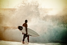 {Makin' Waves} / Surfing is the most blissful experience you can have on this planet, a taste of heaven. ~ John McCarthy / by {Annie Louise}
