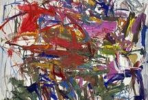 Abstract Expressionism / Primarily adding images of paintings by deKooning, Pollock, Joan Mitchell, Lee Krasner, Helen Frankenthaller, Asgar Jorn (student of Leger), Franz Kline