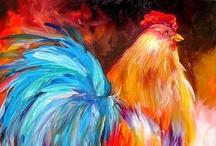 Chickens in my garden!! / by Michelle Scrafton