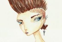 my work. [illustrations & crafts]