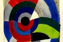 Delaunay art --Sonia and Robert / the art of both Robert and Sonia Delaunay