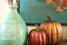 Fall is Here! / Halloween, changing leaves, cinnamon apple recipes and so much more!
