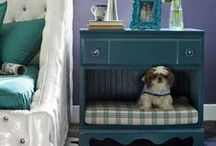 Oh the Pawssibilities / Pets are family too, here are some ideas to keep their places in your home looking...well...homely. You're sure to find one that is purrfect for you, and we think that's fintastic!