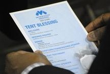 Tent Blessing 2014 / Images from the Tent Blessing  / by Metropolitan Ministries