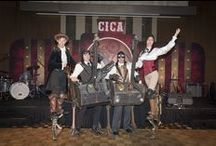 Gala Dinner Theming - Steampunk Circus / A contemporary twist to the circus theme...