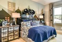 Boys Bedroom Ideas / Looking for boys bedroom decor ideas? Look no further! We've compiled some of our most popular boys rooms from our model homes for you to get ideas from.