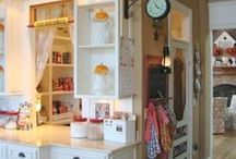 ♥ Kitchen Pantry Ideas ♥ / ♥ a whole bunch of KitchInspiration! ♥