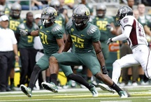 2011 Football Uniforms / Oregon's uniform combinations from the 2011 football season. / by University of Oregon Ducks