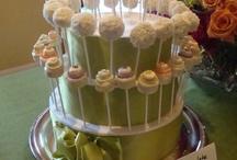 "♥ cake pops ♥ / Decorated bite-size ""cake-balls""  on a stick :o)  ♥"
