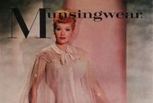 Munsingwear Vintage Lingerie / Compilation of vintage ads and lingerie from the brand Munsingwear. For historical buyers & sellers reference. Read more about this brand on my blog where you'll also be able to search for Munsingwear lingerie.
