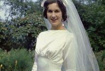Vintage Bridal Dresses / Vintage bridal dress photos. See more images on my site: TheVintageDresses.com