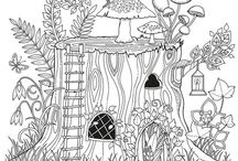 Colour my world / Colouring pages