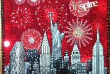 Sew America / Patriotic Quilts and Sewing Projects