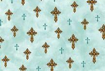 Religious and Spiritual Fabrics / Beautiful Fabrics with a religious or spiritual theme