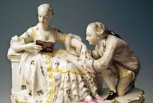 Nymphenburg Porcelain / German porcelain figurines Nimphenburg