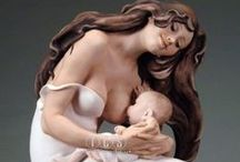 Giuseppe Armani - Mother and Child / Florence Giuseppe Armani figurines (Italy)