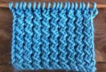 Neulepinnat - Knitting Stitches