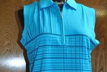 Page & Tuttle Arctic / The beautiful blues and white of the Arctic in this Page & Tuttle ladies golf fashion collection, now in at From the Red Tees