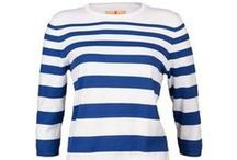 Sweaters to keep warm by! / Stylish sweaters from several known designers of women's golf clothing.