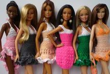 Barbie crocheting / Crocheting clothes & accessories for Barbie