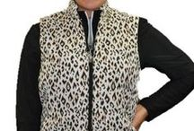 Fashion Vests / The weather is Cold, Hot, Cold again, what to do?  Wear a ladies fashion vest or jacket with sleeves that zip off to convert to a vest!  We've got a style for everyone at From the Red Tees!