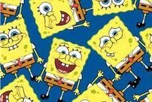 Crazy Cartoon Fabric / Looney Toons, Nickelodeon and more cartoon fabrics and ideas.