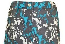 Nivo Dream Collection / Wow!  Lovely sky blues are accentuated in a recent collection by Nivo Women't Golf Clothing.