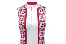Sport Haley Enchanted Forest / Sport your Patriotic with the Navy, Reds and Whites in this Ladies Golf Collection by Sport Haley.