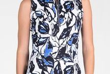 Sport Haley Modern Oasis / Sport Haley's latest ladies summer and golf clothing in Blues and Black.