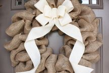 Front Door Wreaths / by Ashley Alphin ( C & A Event Planning )
