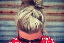 Hair / Hairstyles, hair colors, and other fun hair ideas.  / by Whitney Banker