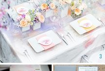 Place Settings   Wedding Inspiration / by Ashley Alphin ( C & A Event Planning )