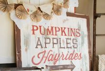 Fall/Autumn Decorations and DIY Projects / by Ashley Alphin ( C & A Event Planning )