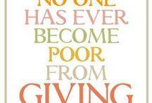 Charities Dear to My Heart / by Gail Jensen