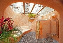Natural Homes - Earthen; Cob; Natural Elements; or Settings / by Gail Jensen