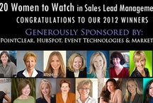 20 Women to Watch in Sales Lead Management / by Sales Lead Management Assn