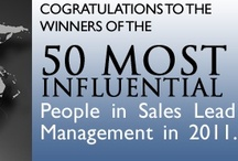 50 Most Influential In Sales Lead Management 2011 / by Sales Lead Management Assn