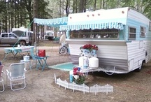 Vintage trailers campers glampers / Vintage Travel Trailers  over 8,000 pins  / by Alice Mulloy