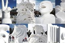International Snow Sculpture Championships / 2015 Dates: Jan. 27-31 (sculpting/competition week), sculptures remain on display through Feb. 8, 2015, weather permitting  Event info: http://www.gobreck.com/events/international-snow-sculpture-championships