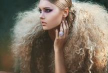 Avant guarde/editorial/couture / Different hairstyles