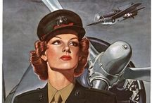 Posters | Art - War / Posters from various wars, mostly WWII / by Sarah Palmer