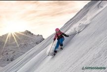 SNOW / Outdoormind likes freeskiing and powder lines....