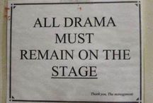 Drama department / by Anji Straayer