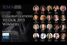 20 Women to Watch 2015 / The SLMA would like to acknowledge women who contribute to the field of sales lead management and marketing. Those creating the greatest wealth for their companies are the women in marketing and technology who, we believe, too often do not get the credit they deserve.  Each year this program addresses that oversight by shining a spotlight on the women who are builders of wealth.