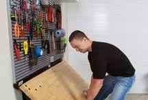 Garage Shelving + Storage