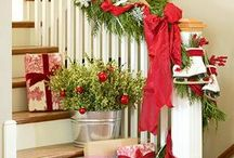 """Christmas Decor / """"Christmas waves a magic wand over this world, and behold, everything is softer and more beautiful.""""  Norman Vincent Peale"""