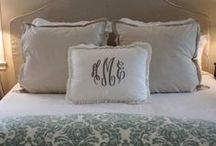 bedrooms / by Debbie Green {Green Nest Decor}