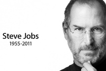 Steve Jobs / Dedicated to the greatest visionary since Edison and Da Vinci / by Steve Parker