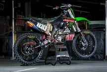 Kawasaki Dirt Bikes / For the Kawasaki Fans!  / by MotoSport .com